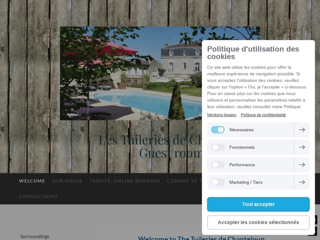 Les Tuileries de Chanteloup