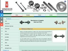 Truck Axle, Trailer Axle, Axle Parts, Axle Hub, Brake Axle, Stub Axle