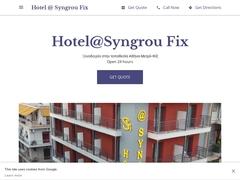 Hotel @Syngrou Fix - Koukaki District - Athens