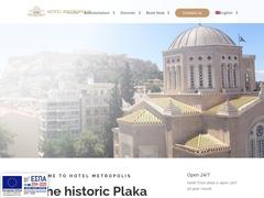 Metropolis Hotel - Square Monastiraki - Athens