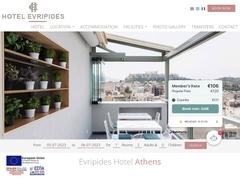 Evripides Hotel - Place Koumoudourou - Athens