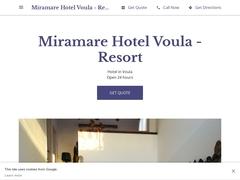 Miramare Hôtel - Sud de l'Attique - Voula