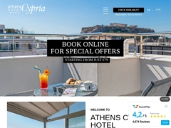 Athens Cypria Hotel - Full Center of Athens - Syntagma Square -
