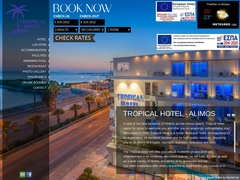 Tropical Hotel - Southern Suburbs of Athens - Alimos -
