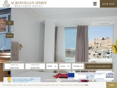 Acropolian Spirit Hotel - Center Ville d'Athènes - Neos Kosmos