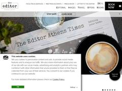 The Editor Hotel - Athens City Center - Monastiraki & Psyri