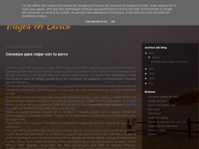 Viajes en Barco