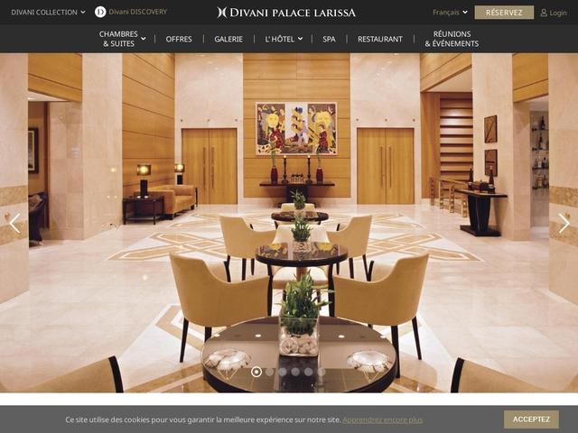 Ξενοδοχείο Divani Palace - Λάρισα - Περιφέρεια Θεσσαλίας