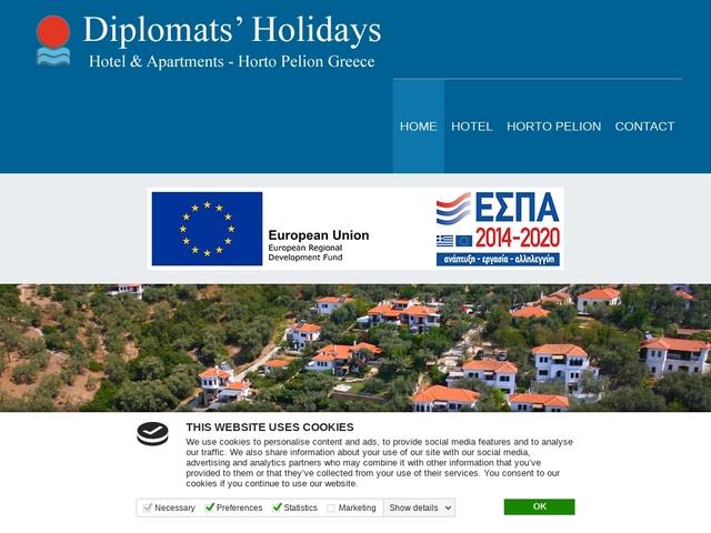 Diplomats Holidays Hôtel - Παραθαλάσσιο Χόρτο - Νότιο Πήλιο