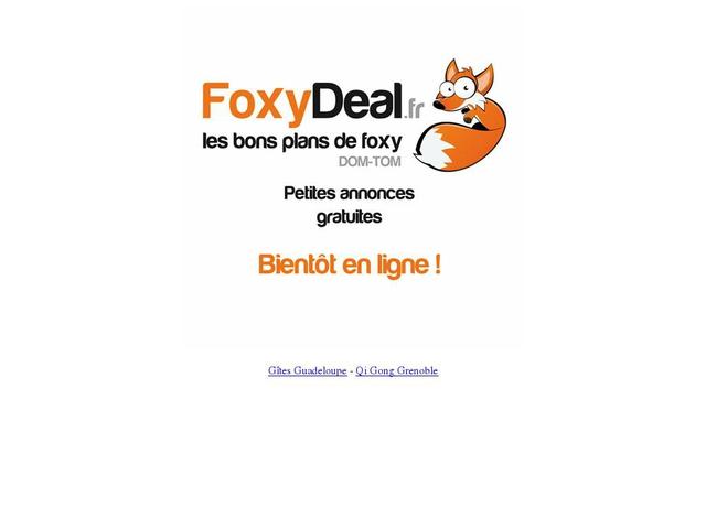 Foxy deal,petites annonces de vacances Guadeloupe