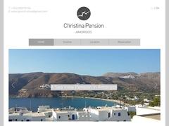 Christina Pension - Hôtel 2 Clés - Egiali - Amorgos - Cyclades