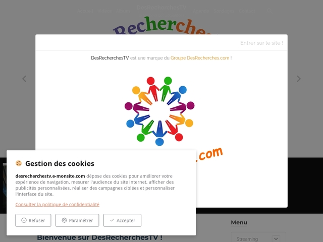 DesRecherchesTV: Un média de divertissement !