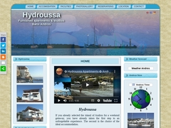 Hydroussa Studios - 3 Keys classified hotel - Batsi  - Andros