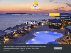 Blue Bay Village Hotel - 2 * Hotel - Batsi - Andros - Cyclades