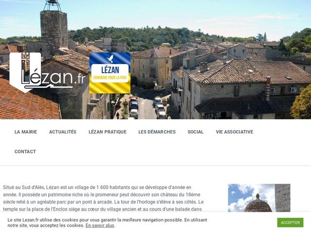 Mairie de Lezan Gard