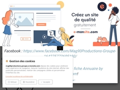Mag90Productions-Groupe: Site du Groupe Mag90Productions.