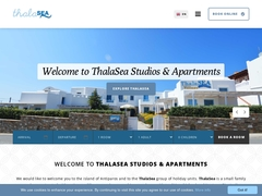 Thalasea Studios & Apartments  - Hôtel 2 Clés - Antiparos - Cyclades
