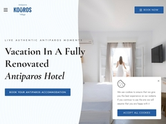 Kouros Village - 3 Keys Hotel - Antiparos Village - Cyclades