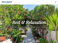 Ξενοδοχείο Lilly's Island - Καταλύματα χωρίς Κατάλυμα - Αντίπαρος