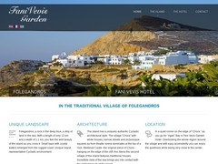 Fani Vevis Hotel - Hôtel 2 * - Chora Folegandros - Cyclades