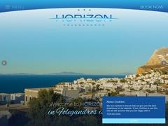 Ξενοδοχείο Horizon - Ξενοδοχείο 3 * - Χώρα Φολέγανδρος - Κυκλάδες