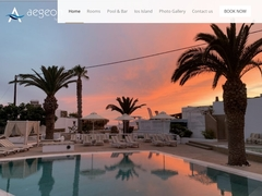 Aegeon Hotel - 1 * Ξενοδοχείο - Μυλοπότας - Ίος - Κυκλάδες