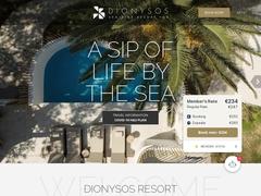 Dionysos Resort Hotel - Hôtel 4 * - Mylopotamos - Ios - Cyclades