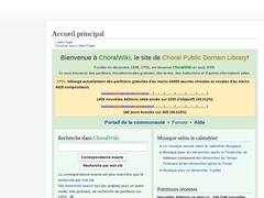 CPDL | Musique chorale
