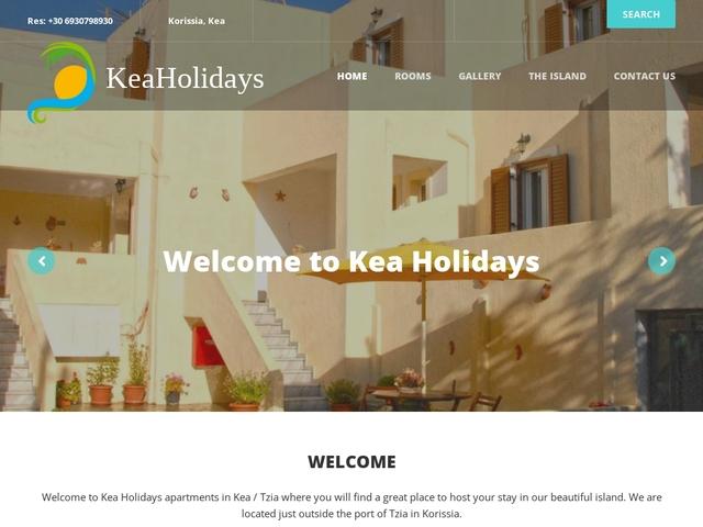 Kea Holidays - Ξενοδοχείο 3 Κλειδιών - Κορησσία - Κέα (Τζια)