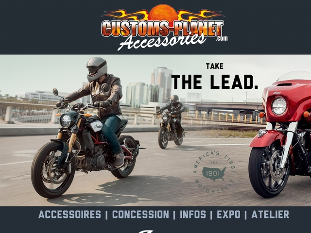 customs-planet.com Concession INDIAN MOTORCYLE Toulouse
