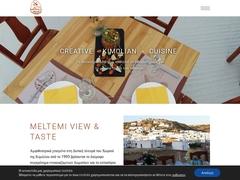 Meltemi Studio Rooms - Hôtel 3 Clés - Chora - Kimolos - Cyclades