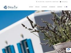 Opalio Apartments - Hôtel Non Classé - Chora - Kimolos - Cyclades