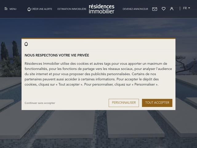 Immobilier prestige à Paris, en Provence, sur la Cô..