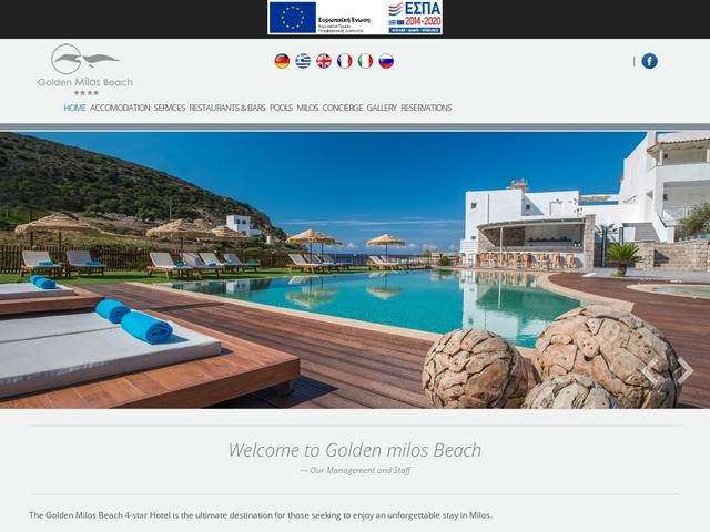 Provatas - Golden Milos Beach