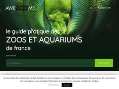 Awezoome, le guide pratique des zoos et aquariums de France