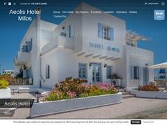 Ξενοδοχείο Aeolis - 2 * Ξενοδοχείο - Αδάμαντας - Μήλος - Κυκλάδες