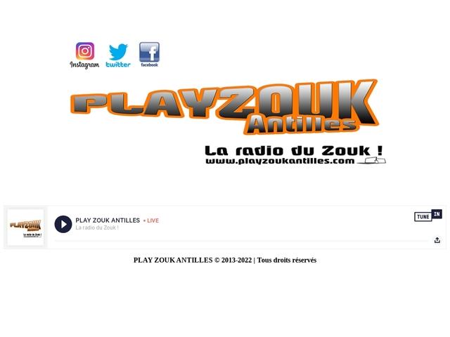 Play Zouk Antilles, la radio des zouks loveurs