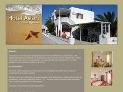 Asteri Hôtel - Non Classé - Ornos - Mykonos - Cyclades