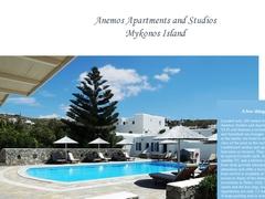 Anemos Apartments - Hôtel 2 Clés - Ormos - Mykonos - Cyclades