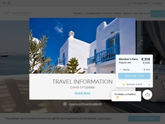 Harmony Boutique Hotel - Hôtel 4 * - Vielle Ville - Mykonos - Cyclades