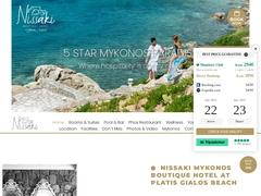 Nissaki Boutique Hotel  - Hôtel 4 * - Platys Gyalos - Mykonos