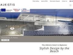 Alkistis Hotel - Hôtel 3 * - Agios Stefanos - Mykonos - Cyclades