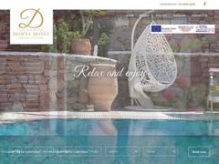 Domna Hotel - Hôtel 2 * - Petianos - Laka - Mykonos - Cyclades