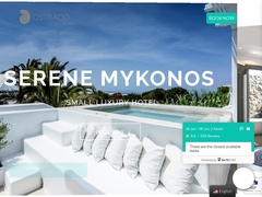 Ostraco Suites - Hôtel 4 * - Drafaki - Mykonos - Cyclades