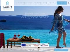 Ξενοδοχείο San Marco - Ξενοδοχείο 5 * - Χουλάκια - Μύκονος - Κυκλάδες