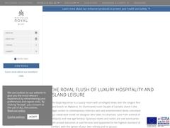 Myconian Royal Resort - Ξενοδοχείο 5 * - Elia Beach - Μύκονος