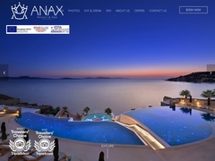 Anax Resort - Ξενοδοχείο 5 * - Άγιος Ιωάννης Διακοφτής - Μύκονος