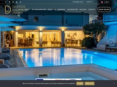 Dionysos Boutique Hotel - Hôtel 4 * - Ornos - Mykonos - Cyclades