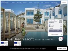 Kosmoplaz Beach Resort - Hôtel 4 * - Platys Gialos - Mykonos
