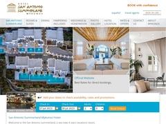 San Antonio Summerland - Hôtel 4 * - Amygdalidi - Mykonos - Cyclades